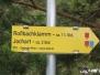Von Rohr im Gebirge zur Rossbachklamm und retour (07.09.2017)
