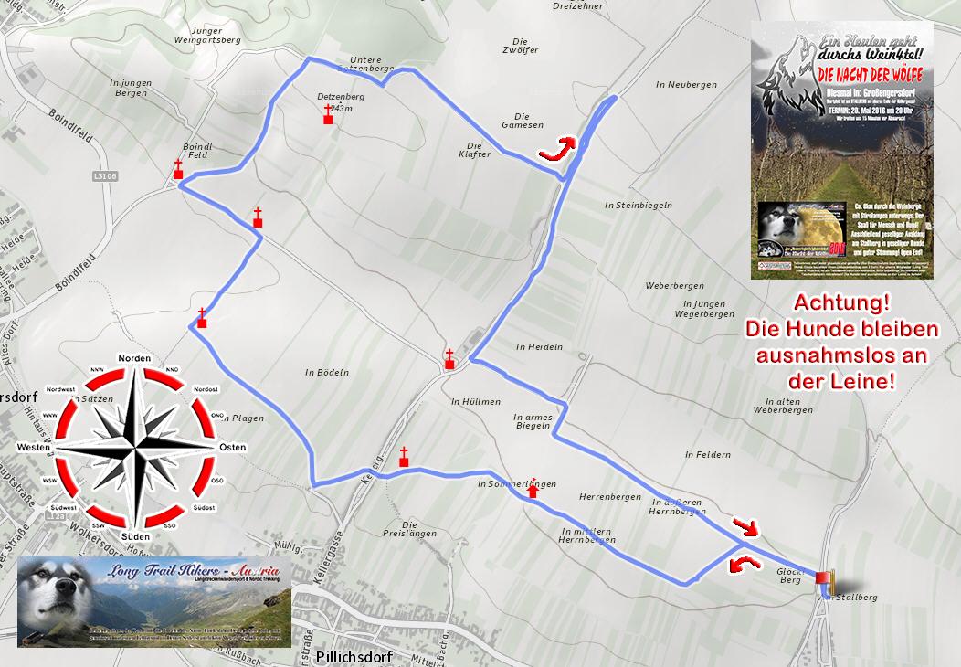 Karte-Grossengersdorf